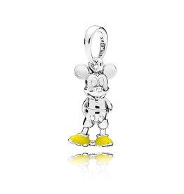 Pandora Pandora Charm, Disney Classic Mickey Mouse, Yellow Enamel