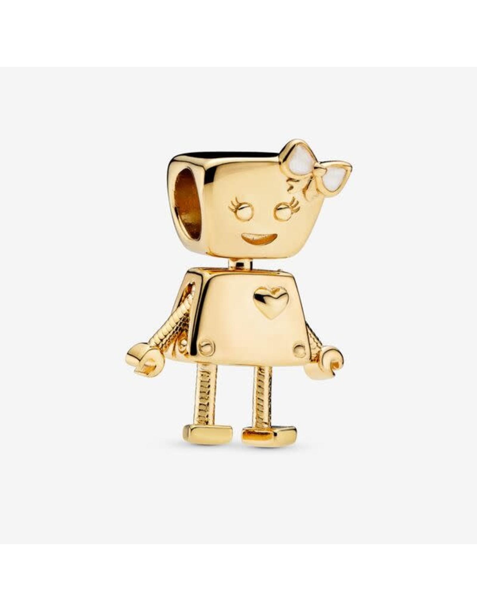 Pandora Pandora Bella Bot, 18 KT Gold Plated Sterling Silver