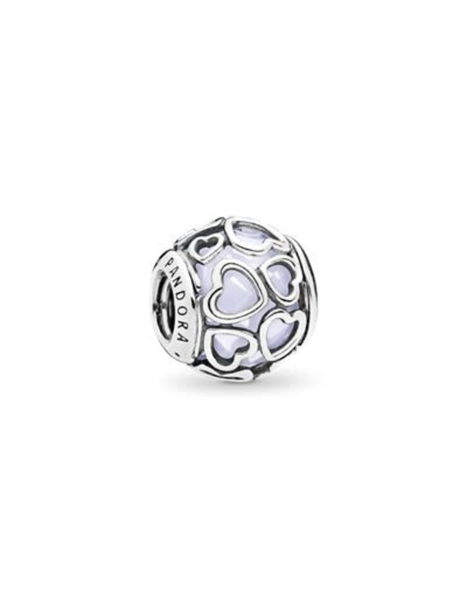 Pandora Pandora Encased In Love Opalescent White Crystal