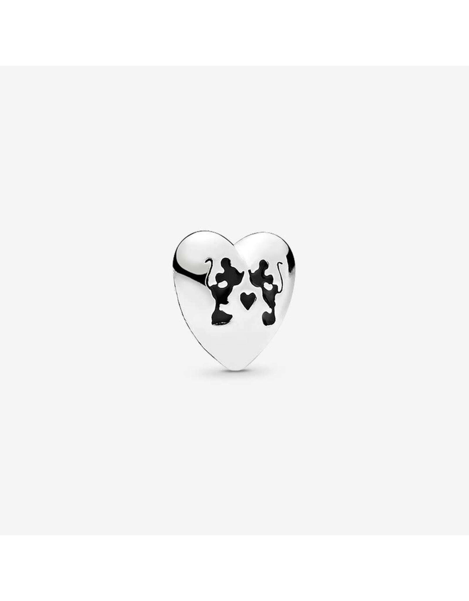 Pandora Pandora Charm Petite, Disney, Minnie & Mickey Kiss