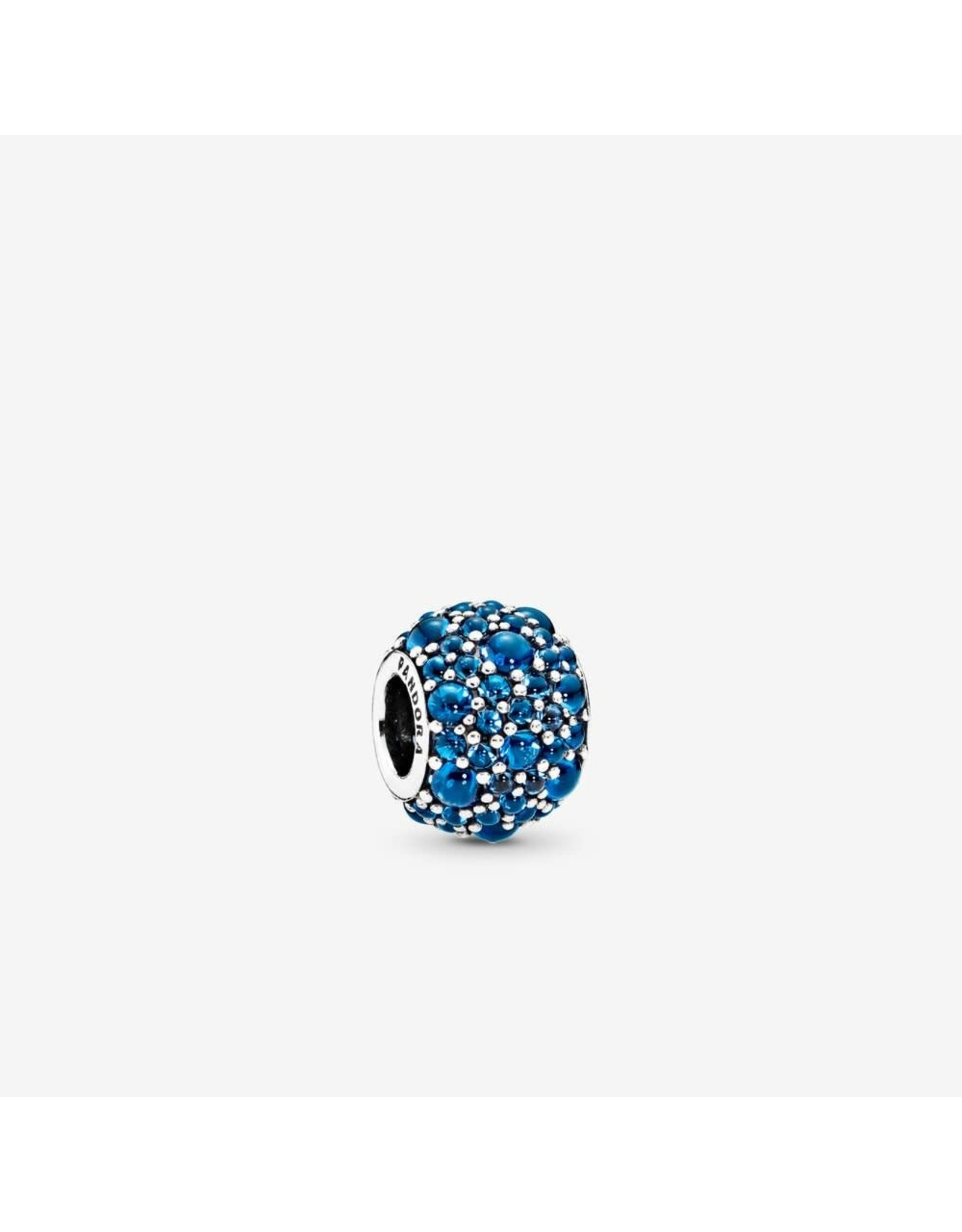 Pandora Pandora Charm Shimmering Droplets with London Blue Crystal