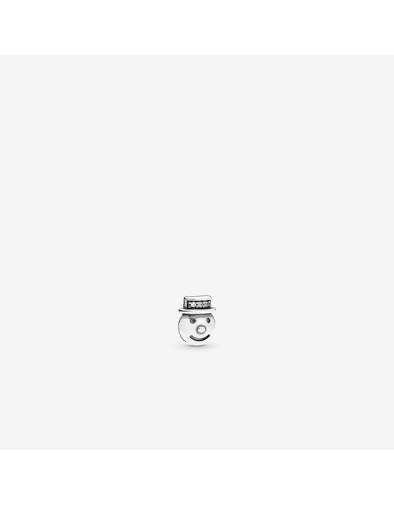 Pandora Pandora Charm Petite Happy Snowman