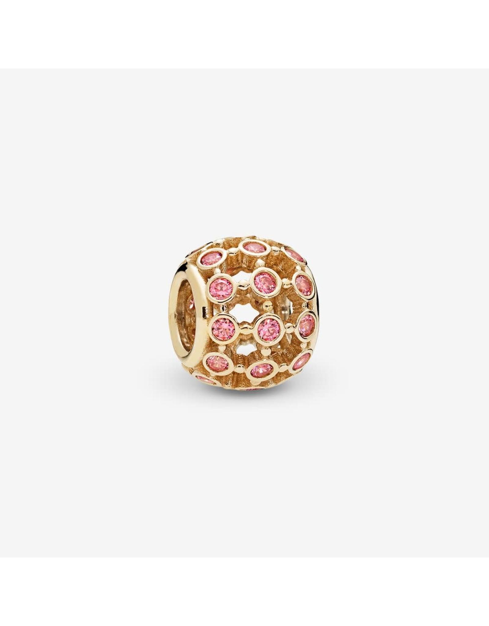 Pandora Pandora In The Spotlight Openwork, Fancy Pink CZ 14K Gold
