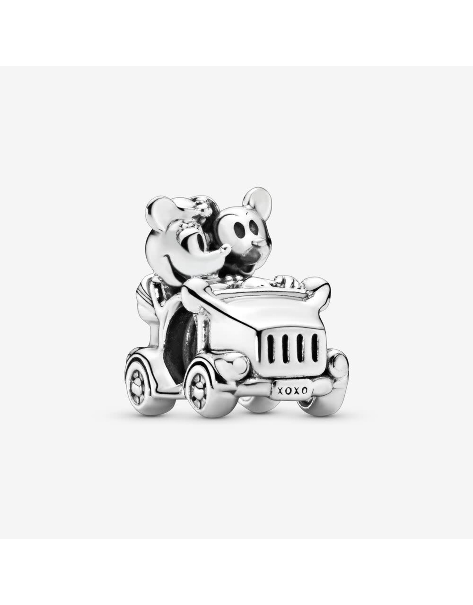 Pandora Pandora Charm,Disney, Mickey & Minnie Vintage Car Disney Mickey & Minnie Car Silver