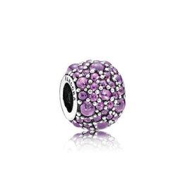 Pandora Pandora Charm Shimmering Droplets, Fancy Purple CZ