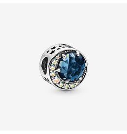 Pandora Pandora Moon & Night Sky, Blue Crystal & Clear CZ