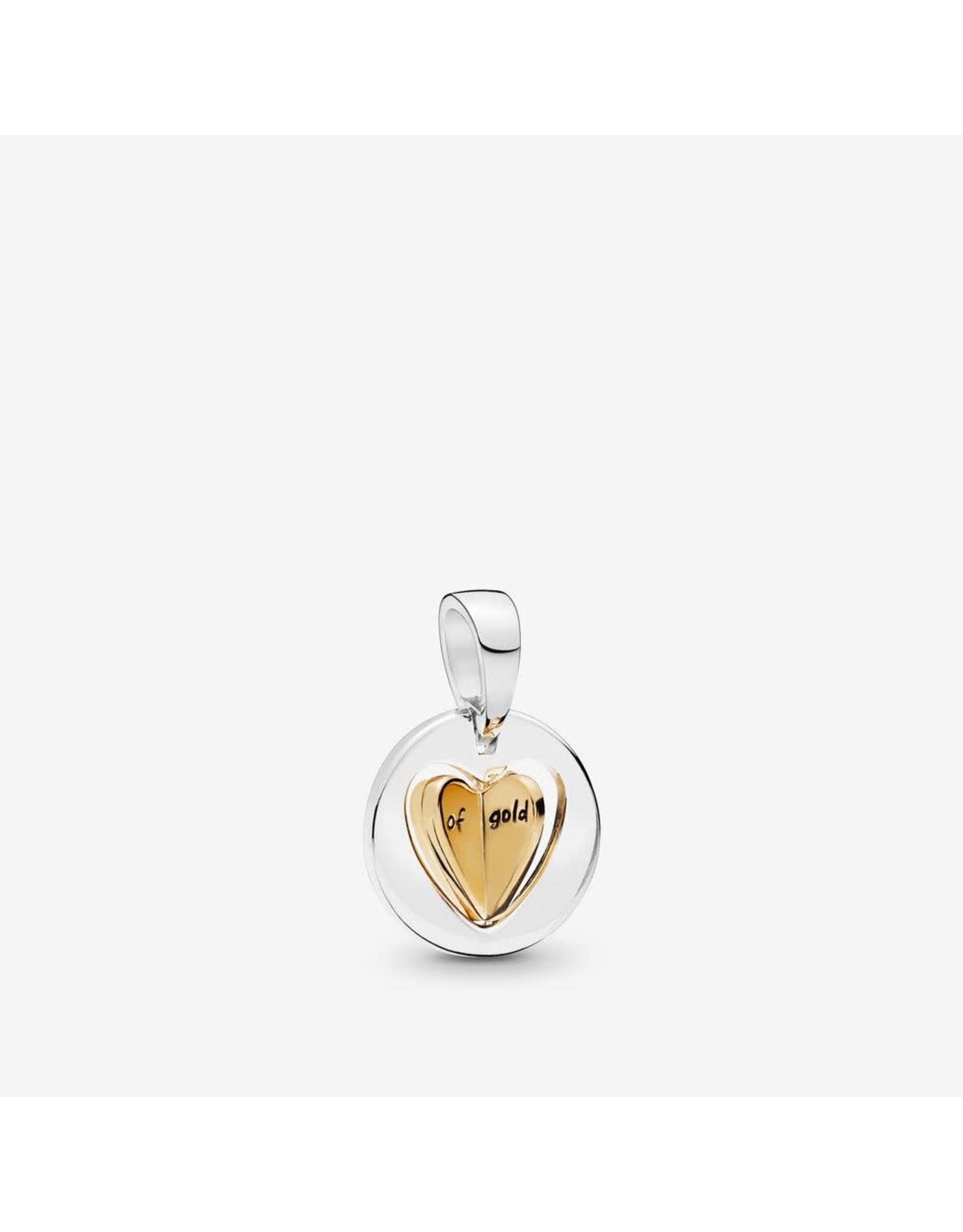 Pandora Pandora Charm768756C00, Mom's Golden Heart