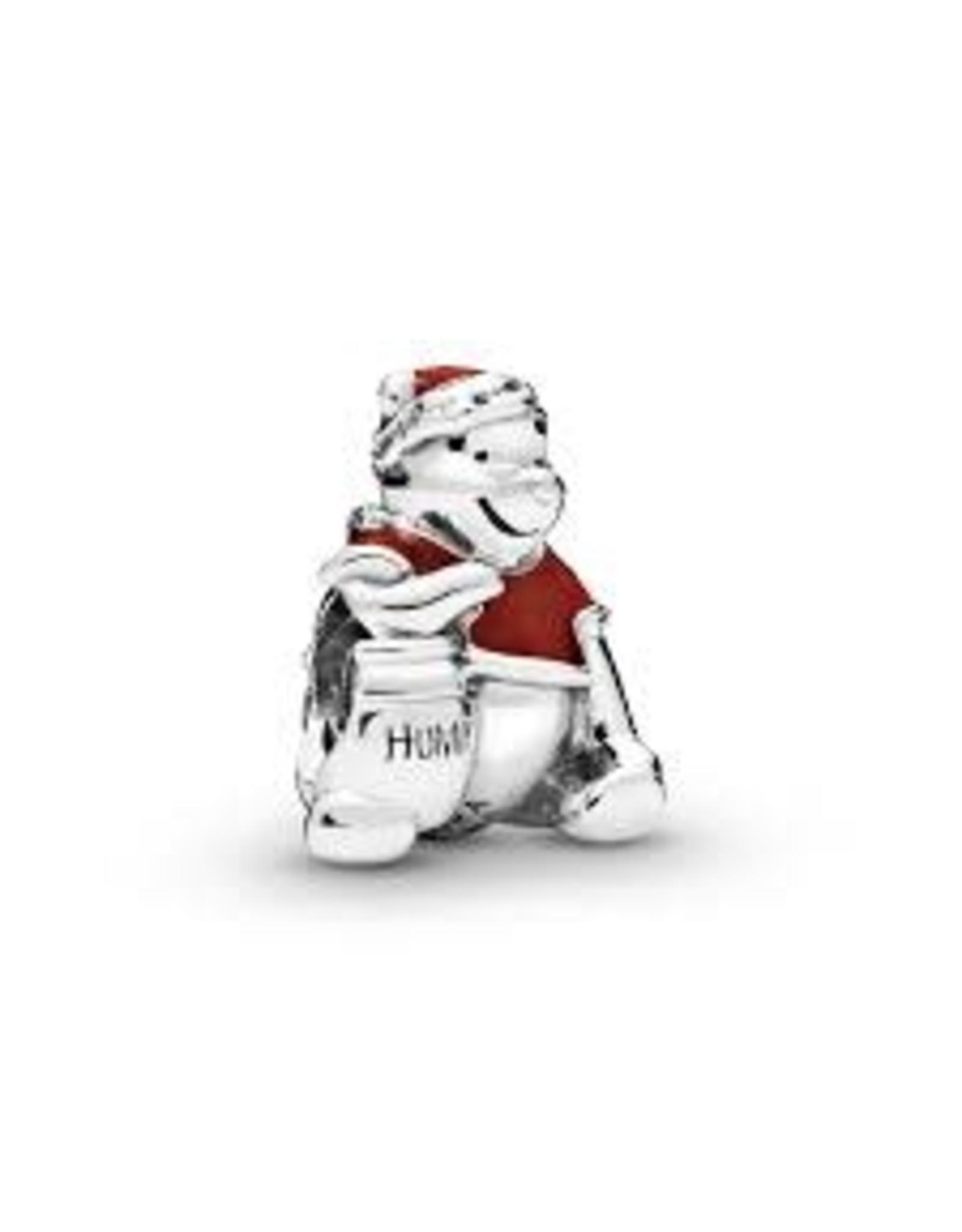 Pandora Pandora Charm, Disney Winnie the Pooh Hunny Pot Christmas