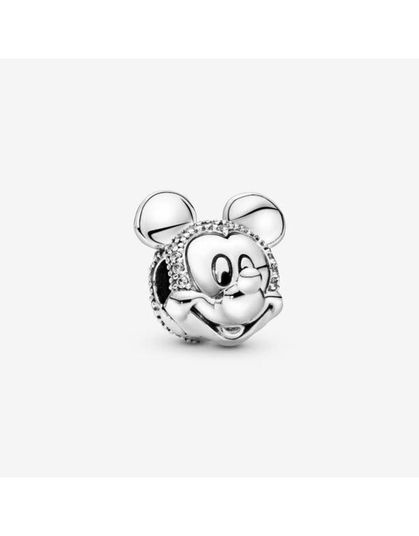 Pandora Pandora Charm,Disney Mickey Clip Clear Cz
