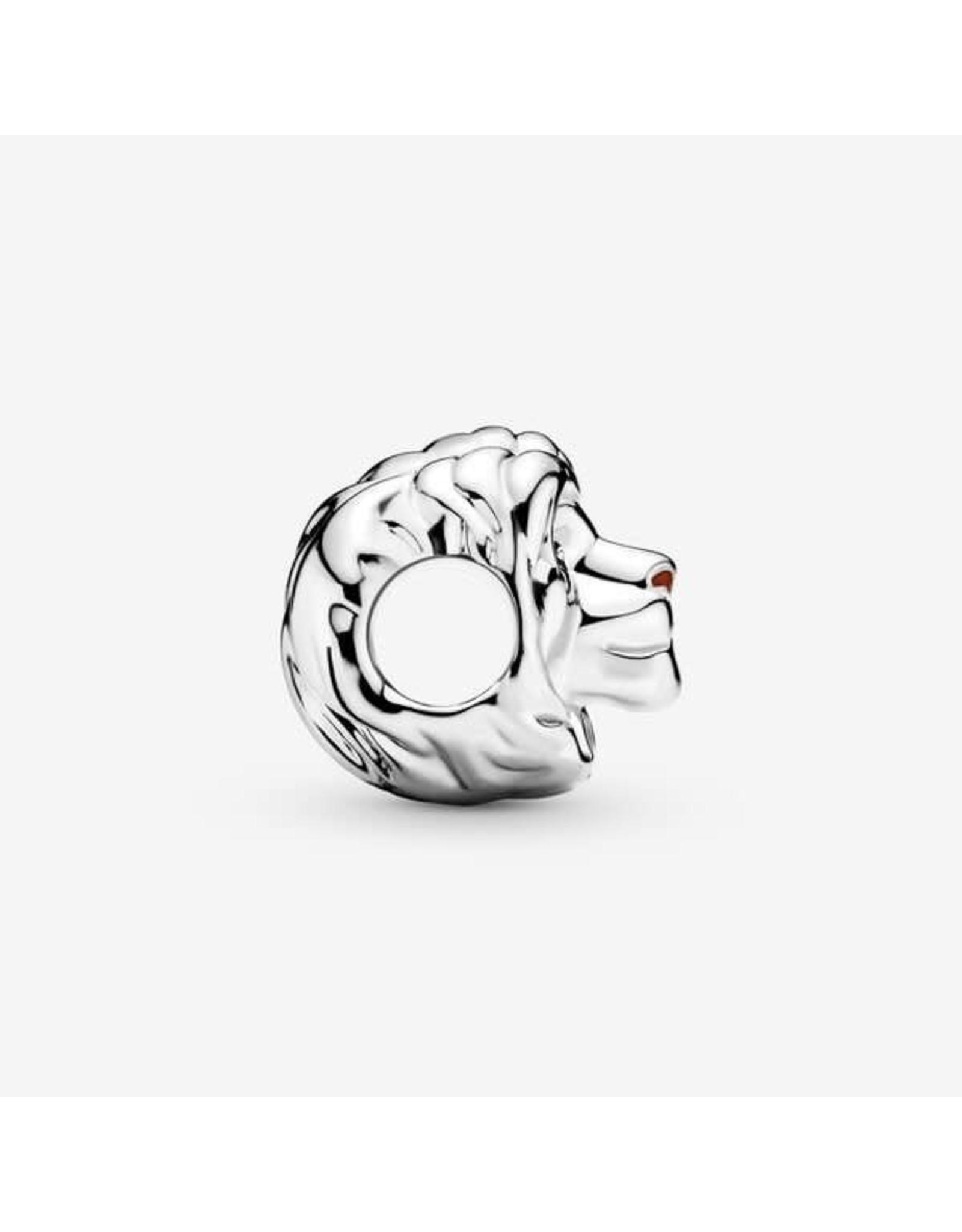 Pandora Pandora Charm,Disney Simba, Black & Brown Enamel