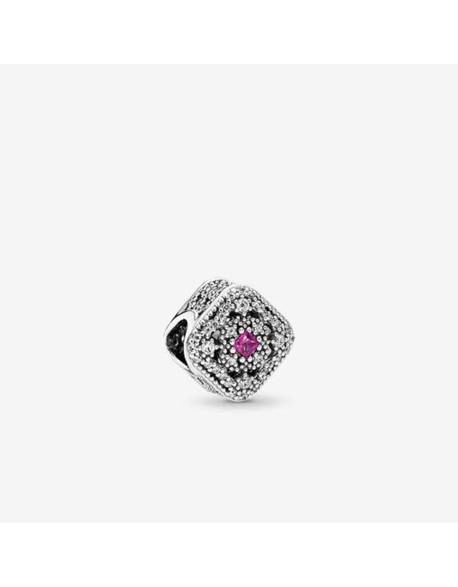 Pandora Pandora Fairytale Treasure, Cerise Crystal & Clear CZ