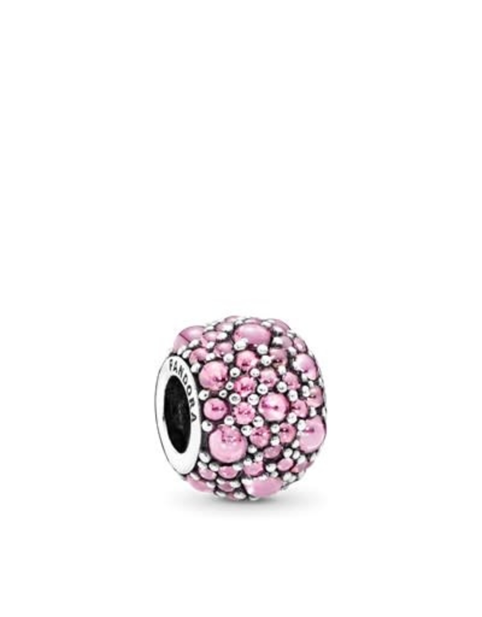 Pandora Pandora Charm Pink Shimmering Droplets with Pink CZ