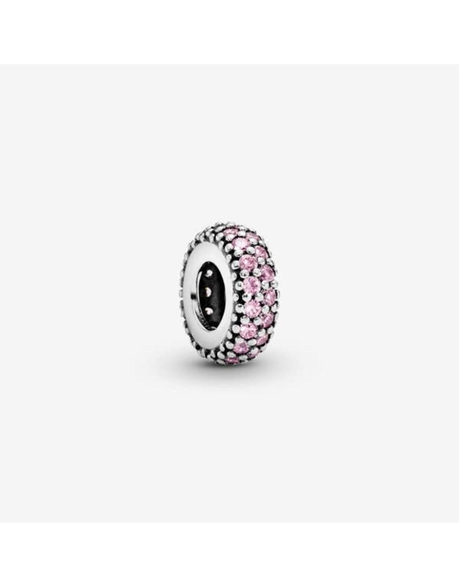 Pandora Pandora Spacer, Inspiration Within, Pink CZ