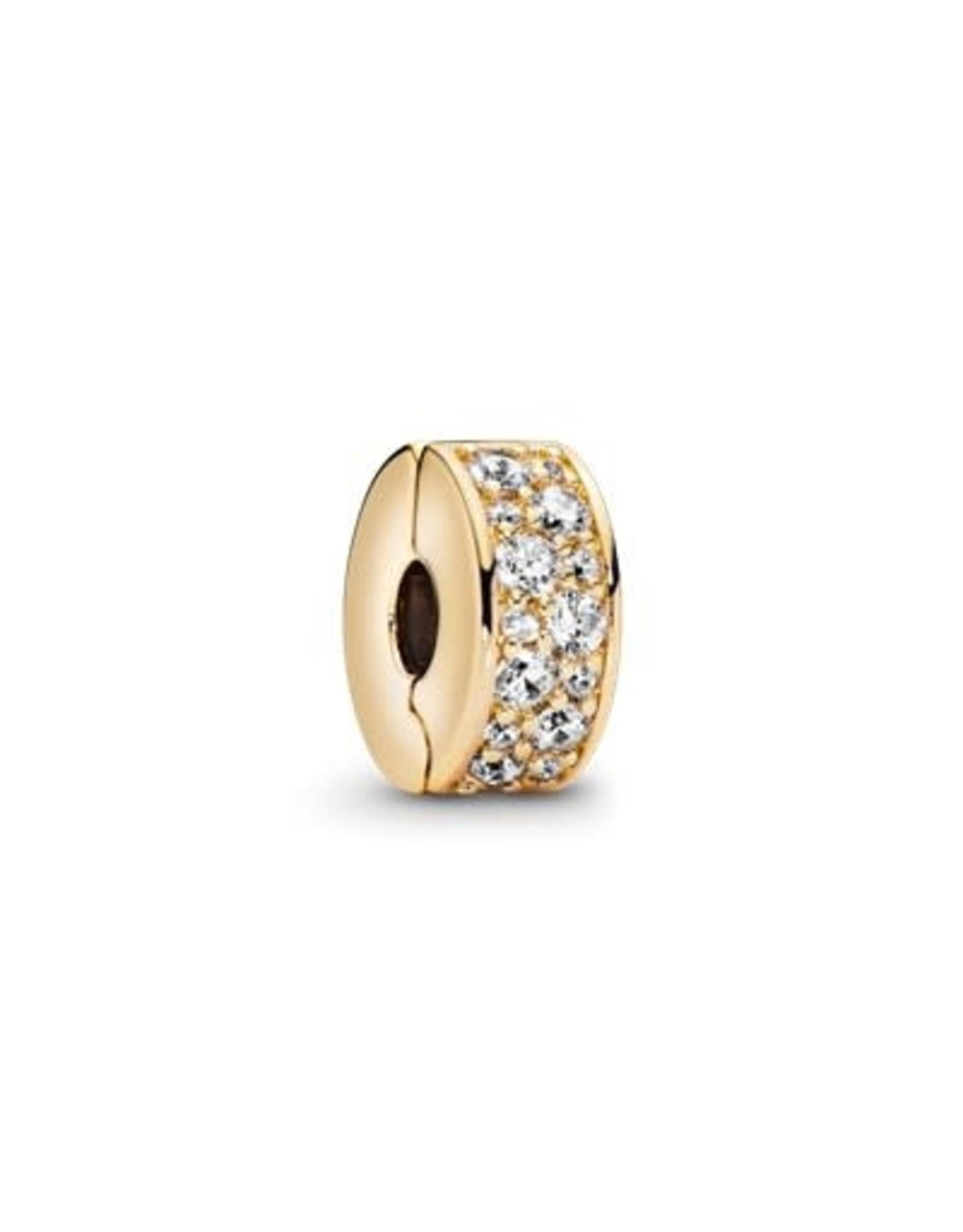 Pandora Pandora Shine Clip, Shining Elegance, Clear CZ
