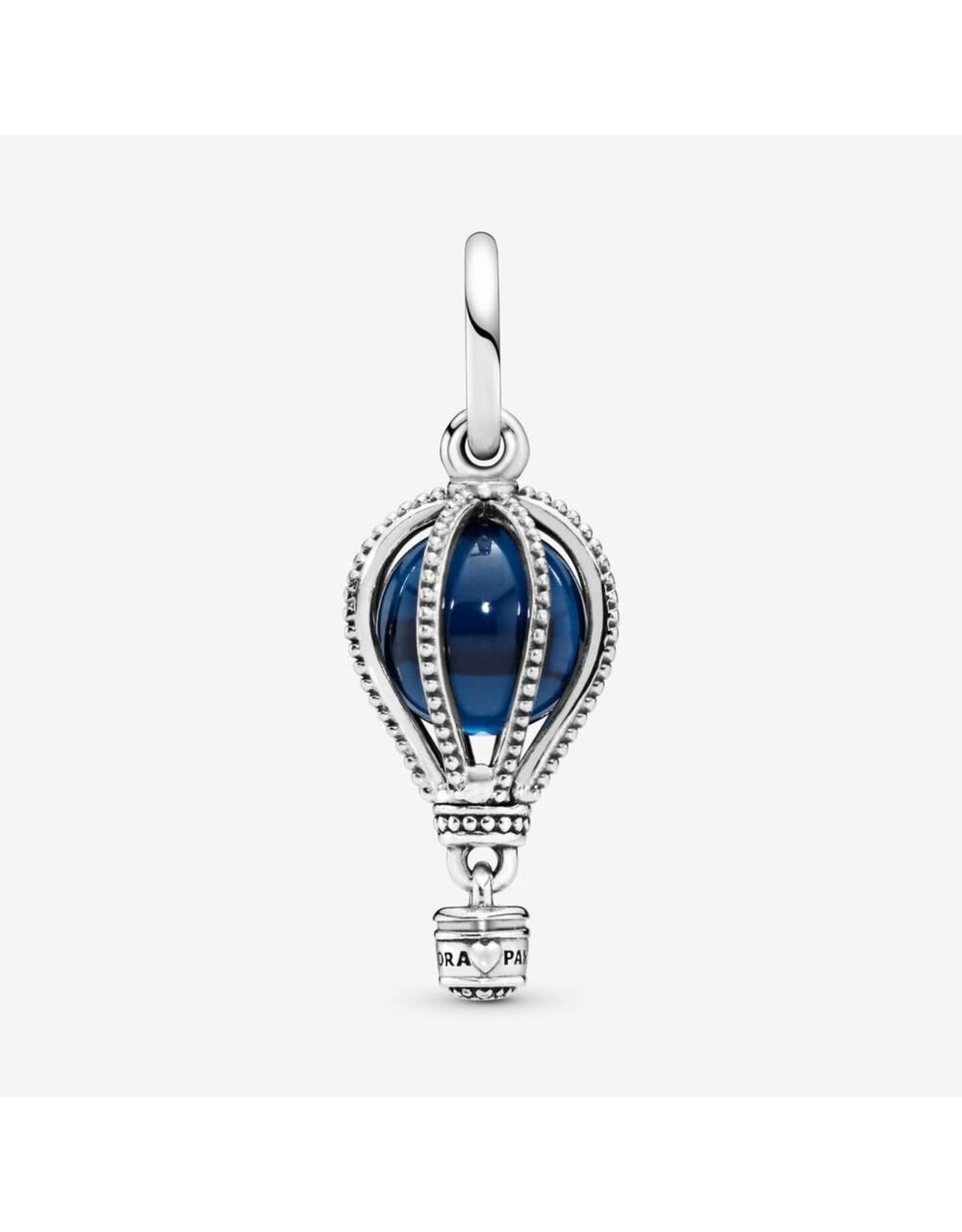 Pandora Pandora Charm, Hot Air Balloon, Blue Crystal