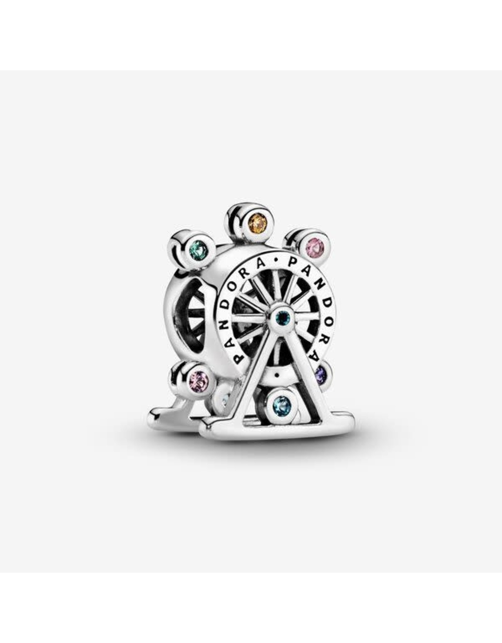 Pandora Pandora Charm, Colour Wheel, Multi-Coloured Crystals & CZ