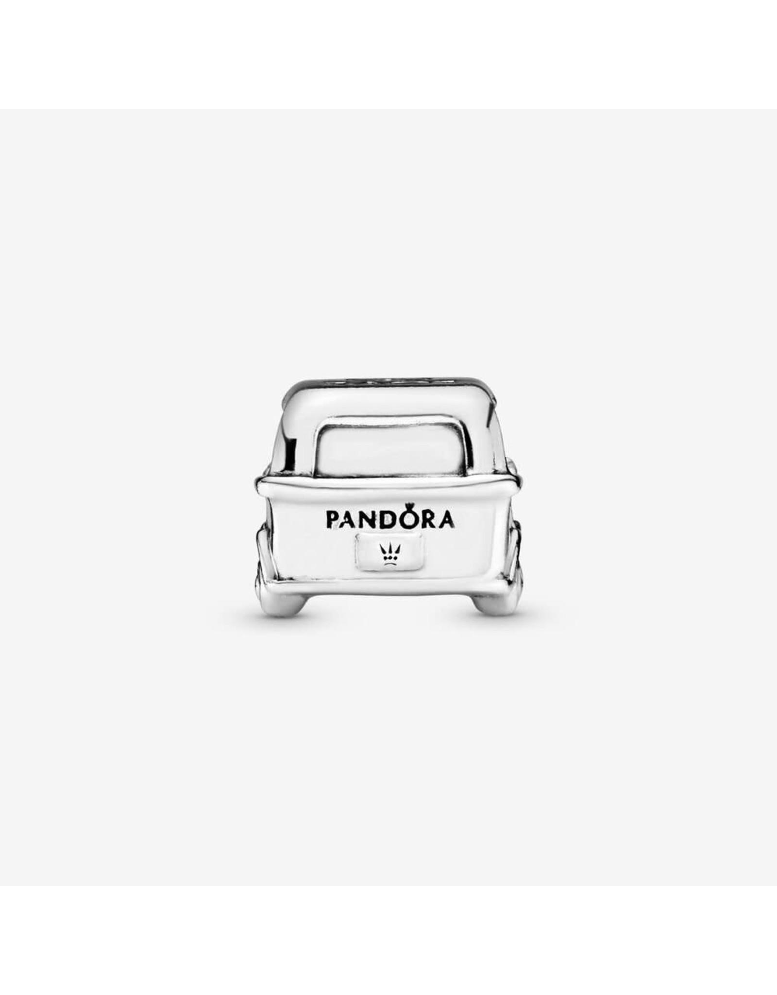 Pandora Pandora Charm, Camper Van, transparent Pale Pink Enamel