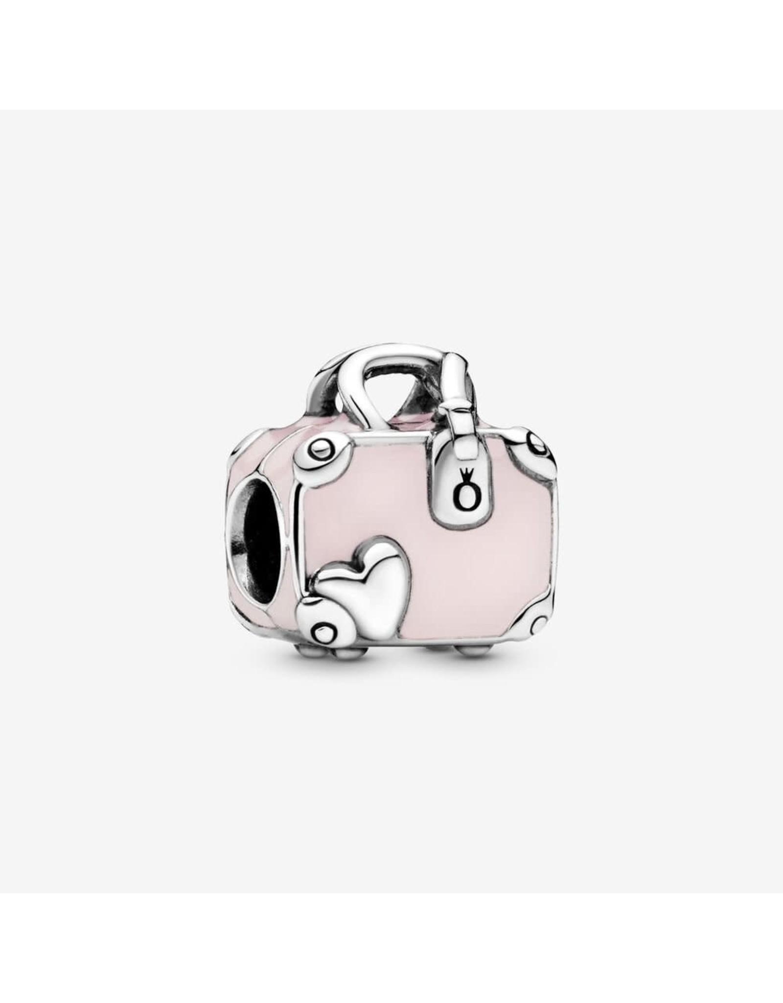 Pandora Pandora Charm, pink Travel Bag, Pink Enamel