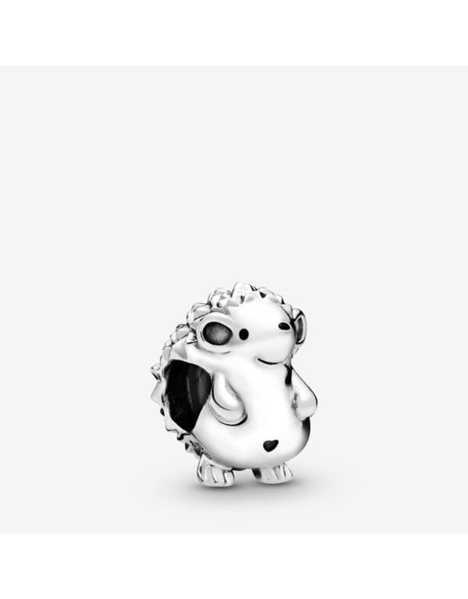 Pandora Pandora Charm, Nino The Hedgehog, Black Enamel