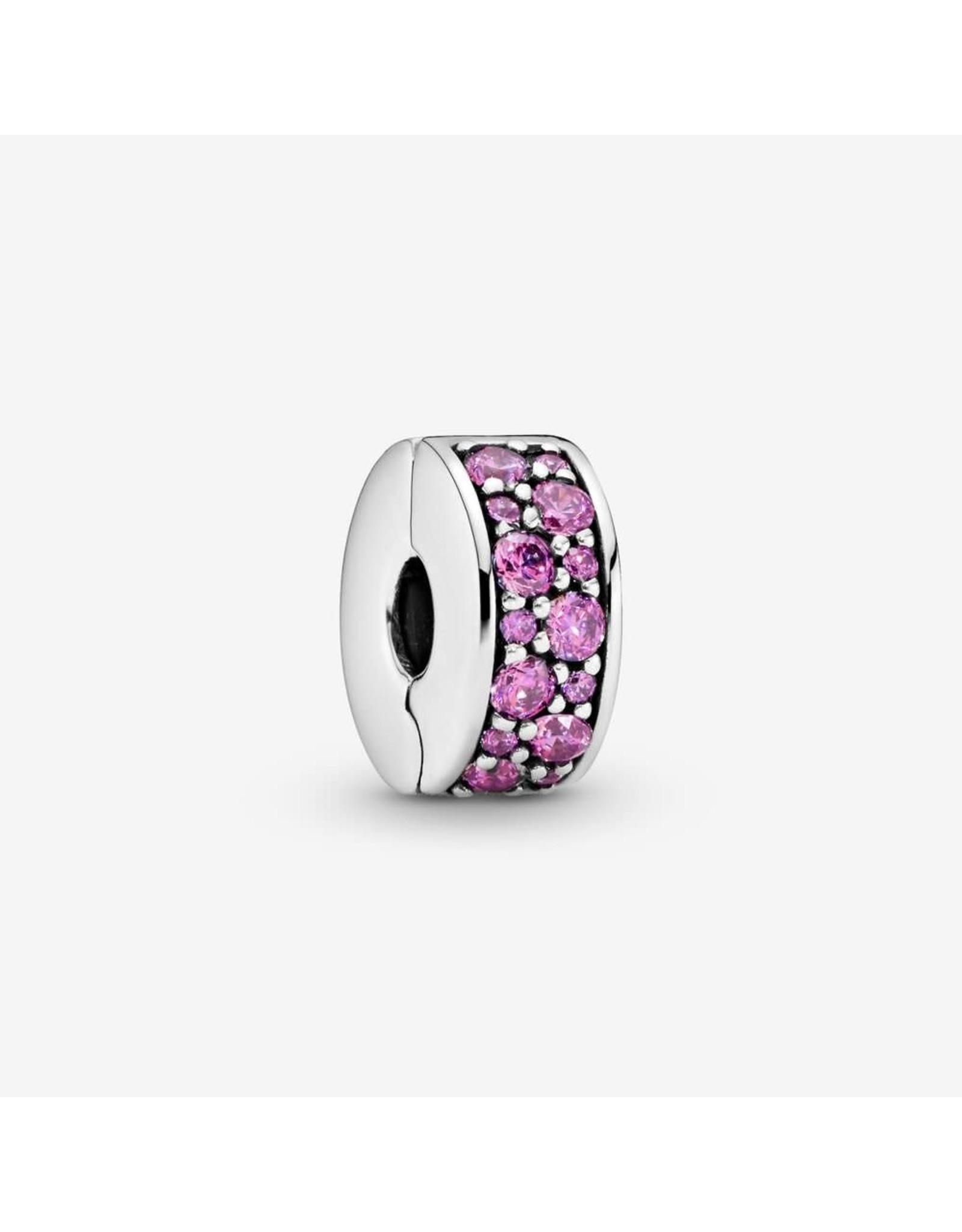 Pandora Pandora Clip, Shining Elegance, Fancy Purple CZ