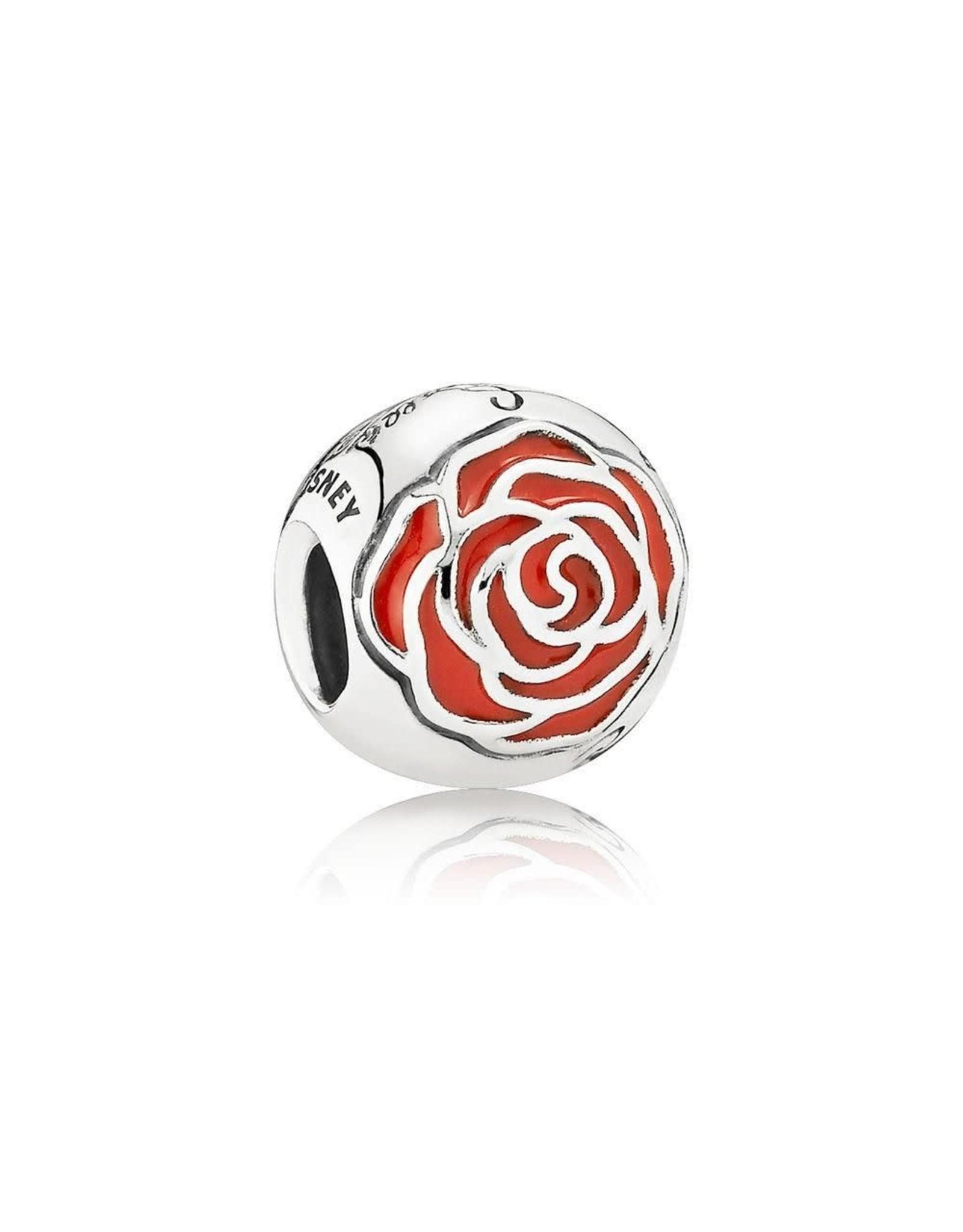 Pandora Pandora Disney Charm, Belle's Enchanted Rose