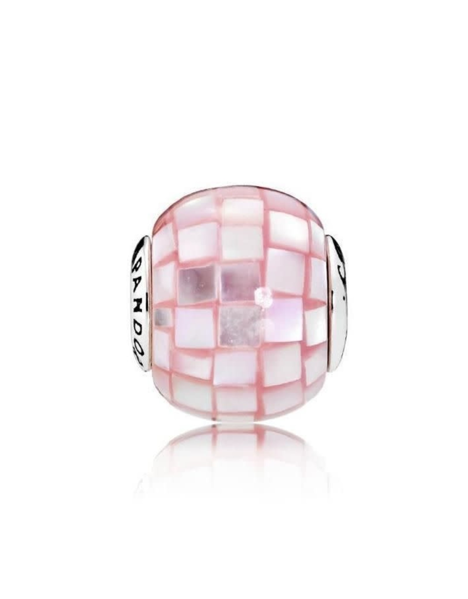 Pandora Pandora Essence Charm,Compassion Mother Of Pearl Pink Mosaic