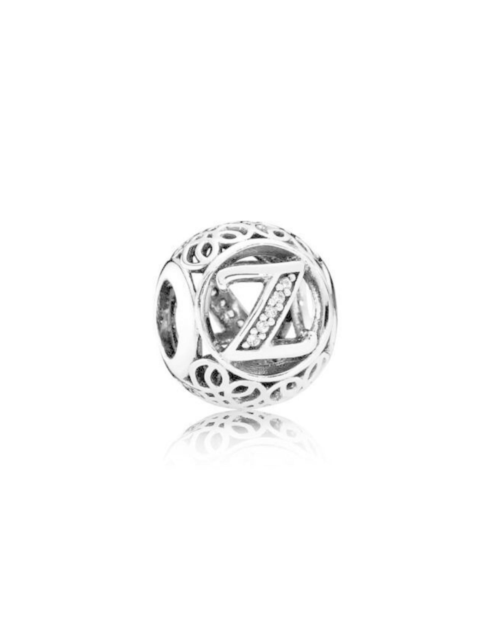 Pandora Pandora Charm, Letter Z, CZ