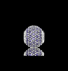 Pandora Pandora Essence Charm, Faith, Purple CZ