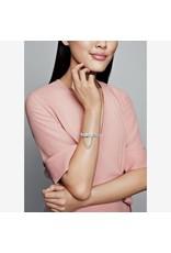 Pandora Pandora Murano Charm, Pink Flower Glass