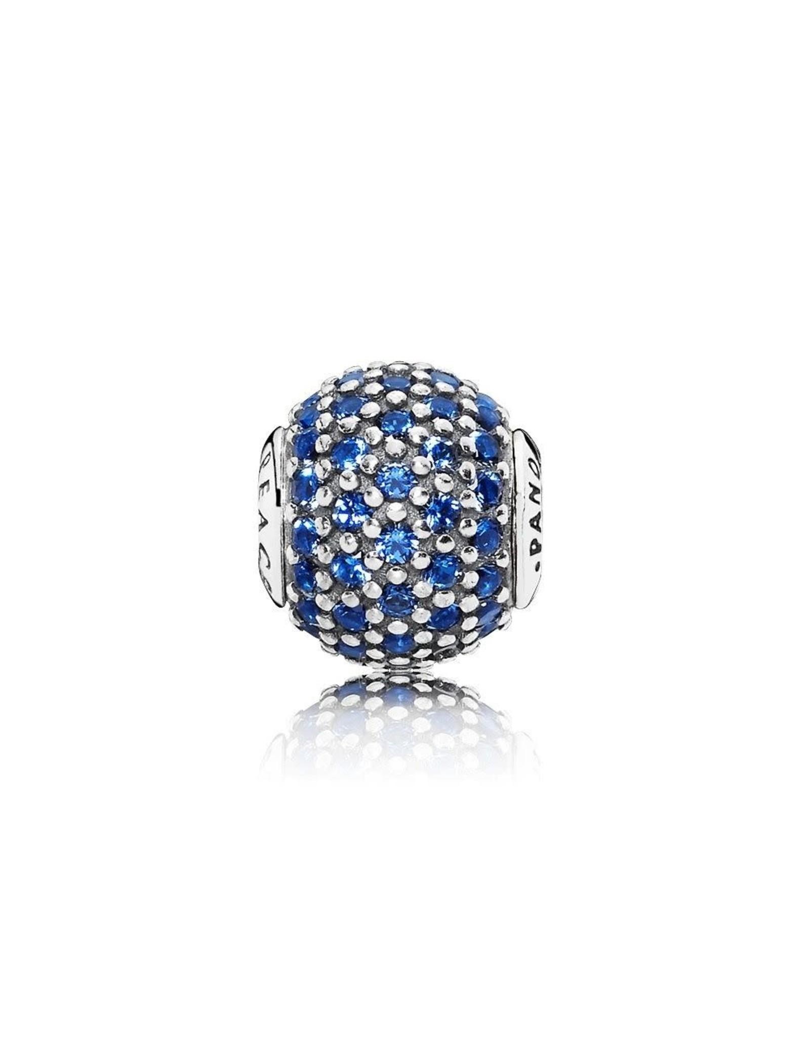 Pandora Pandora Essence Charm, Peace, Royal Blue CZ