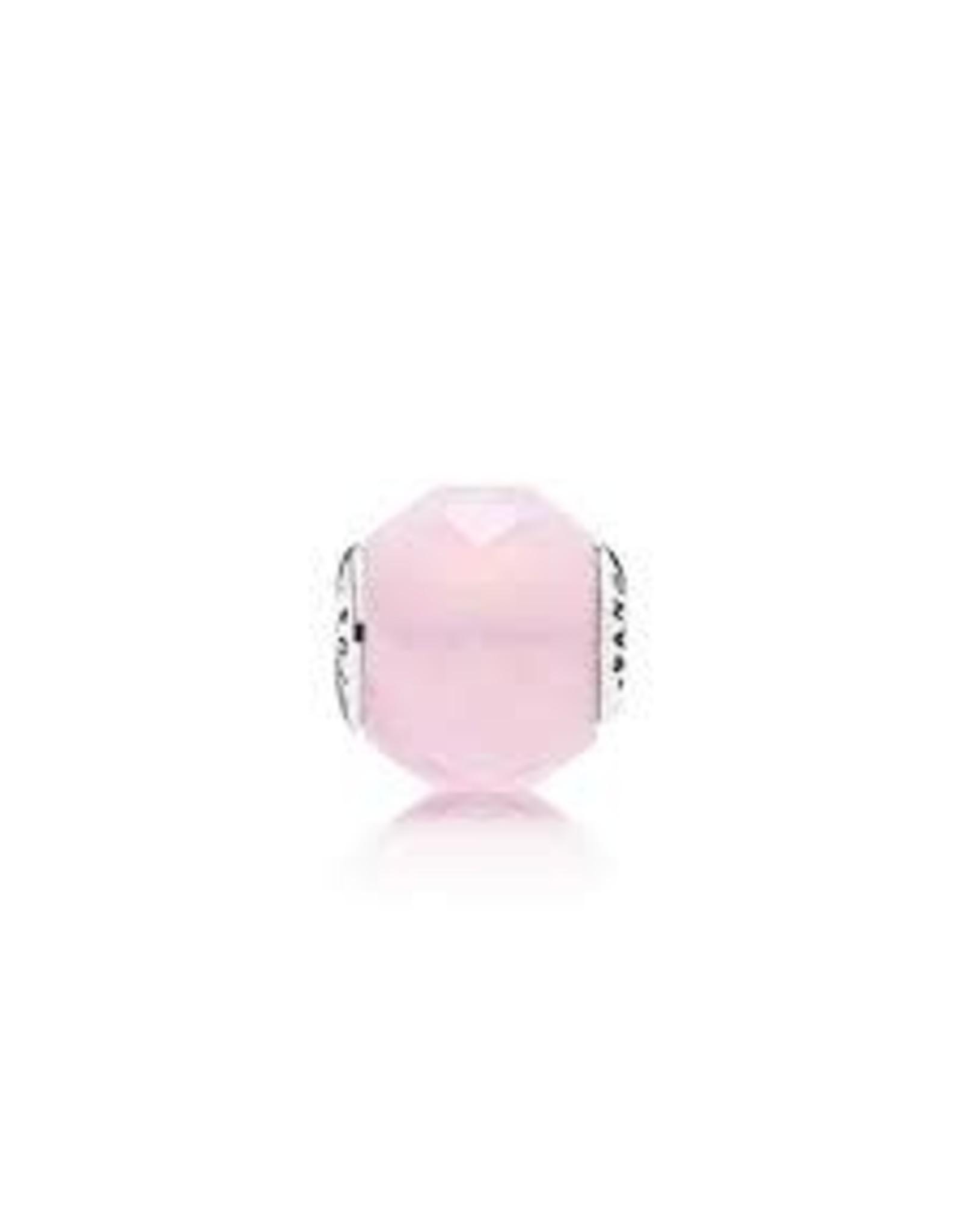Pandora Pandora Essence Charm, Friendship, Opalescent Pink Crystal