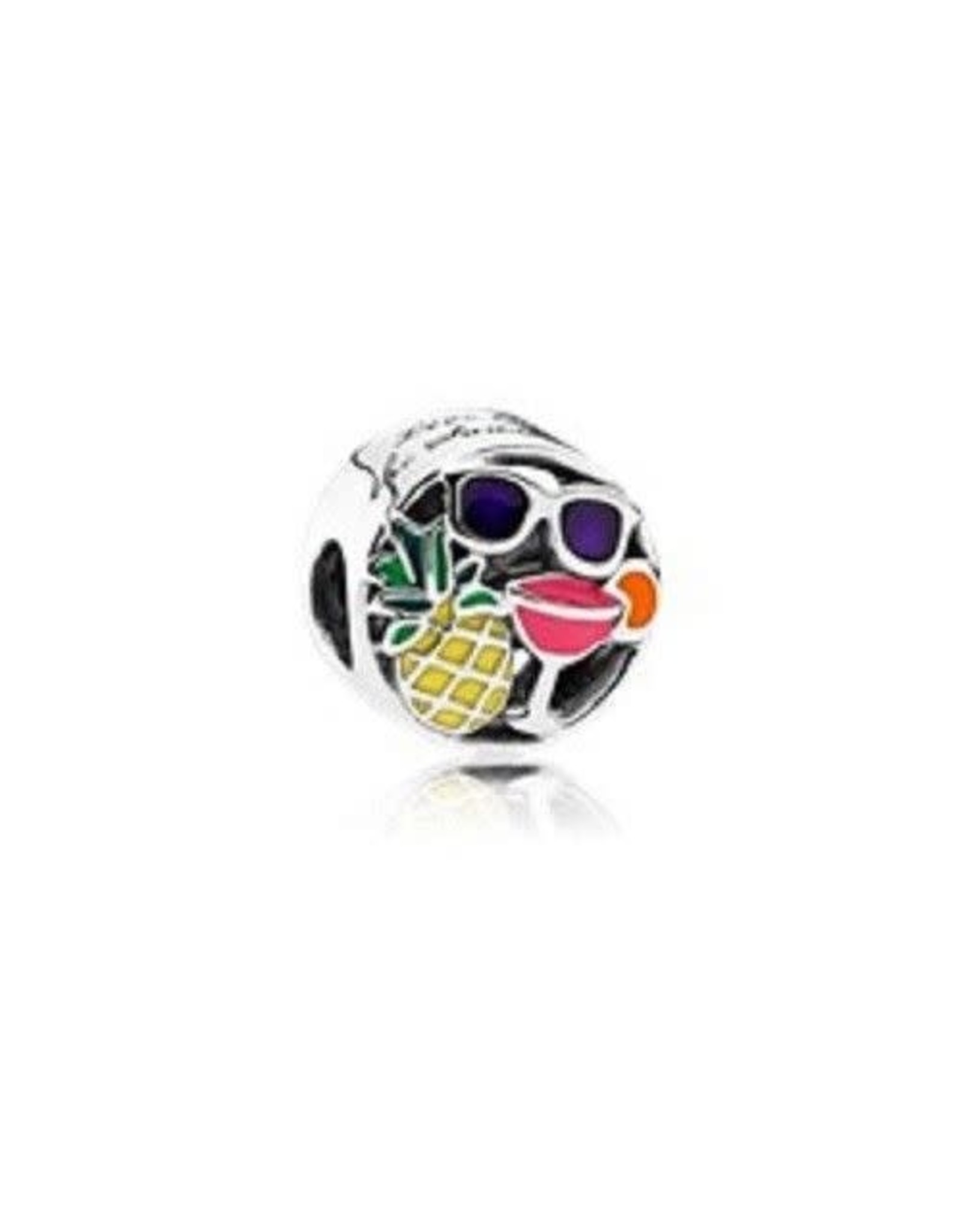 Pandora Pandora Charm,Summer Fun, Mixed Enamel