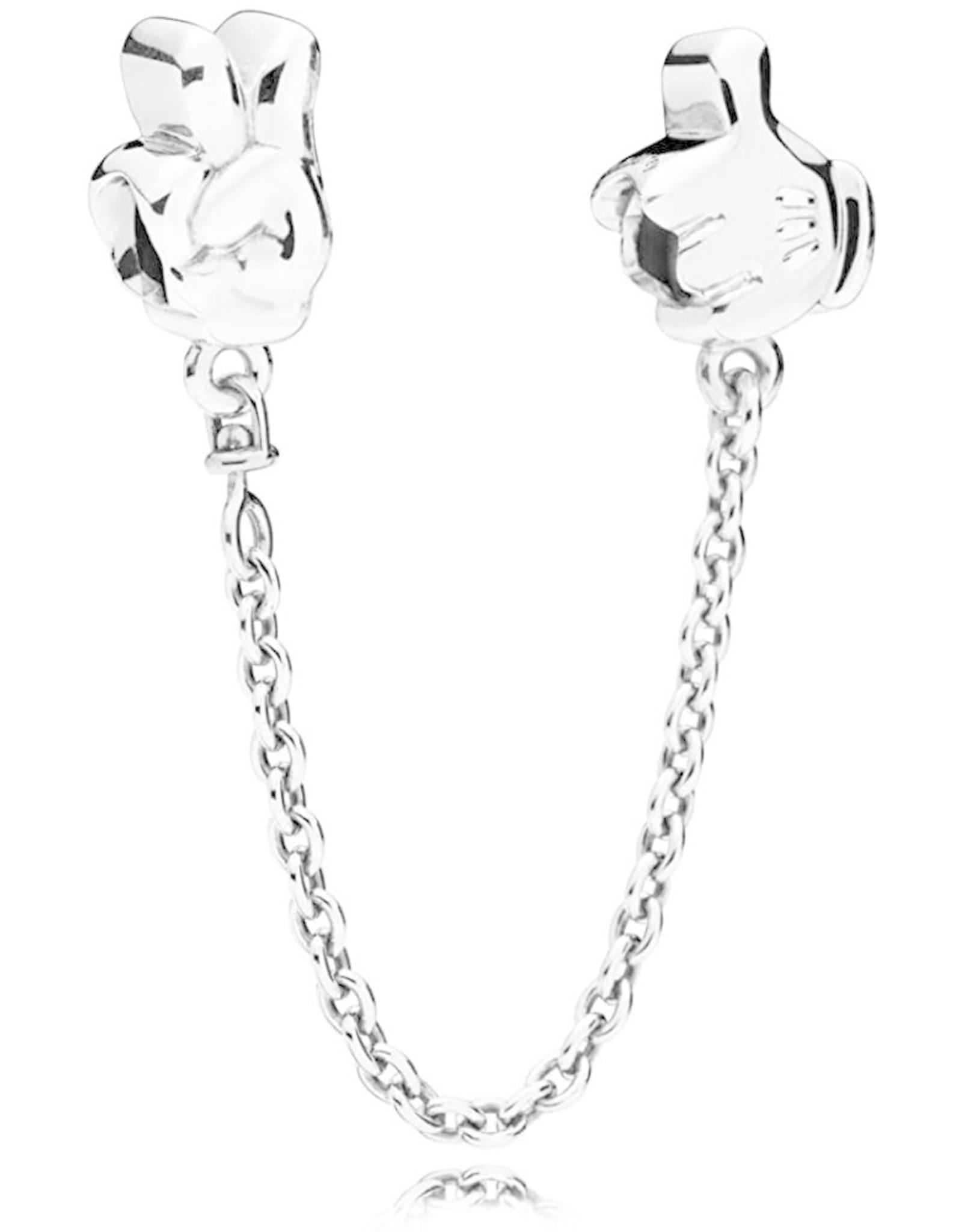 Pandora Pandora Safety Chain, Disney, Mickey Gestures Glove