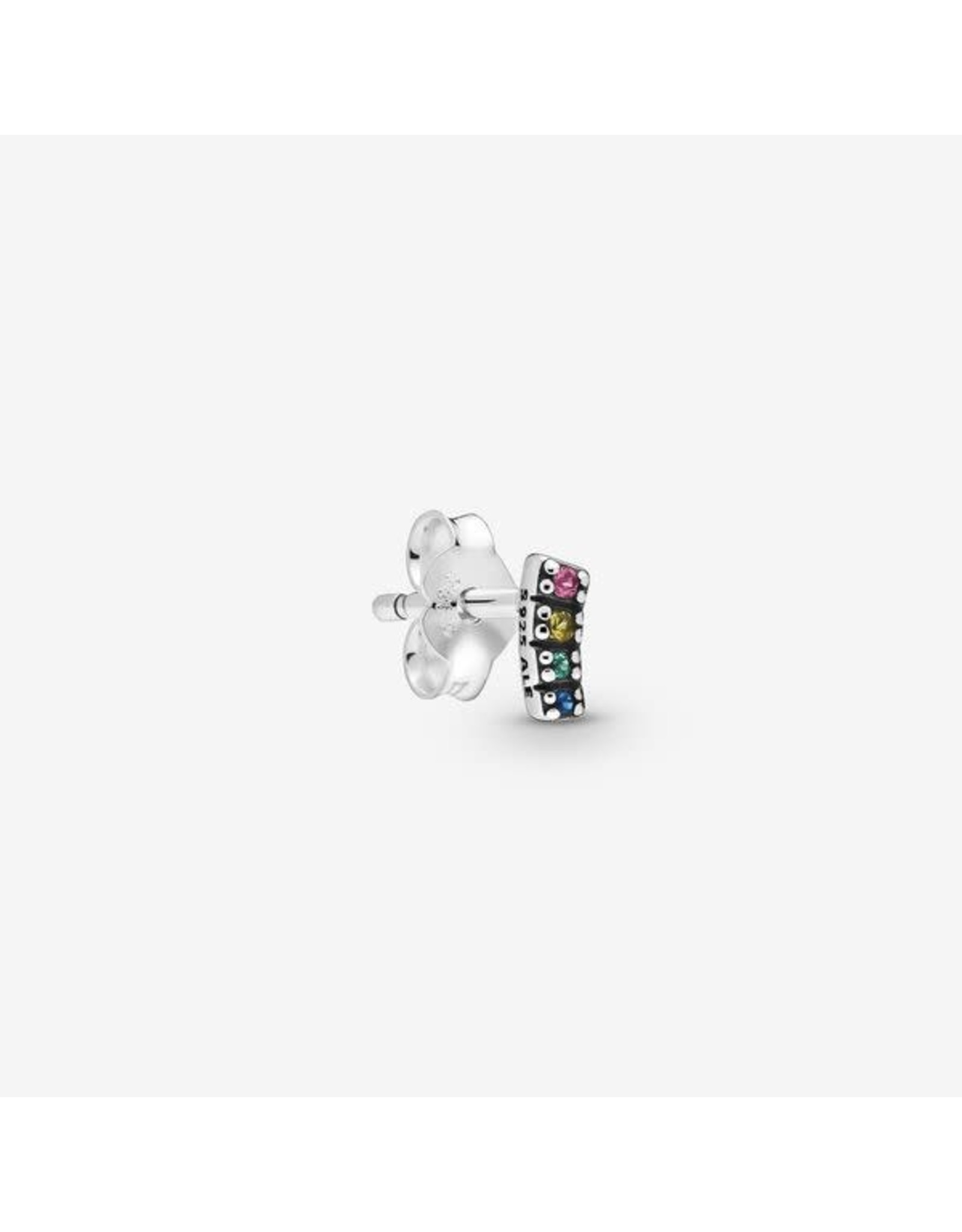 Pandora Pandora Me Earring, My Pride,Multi-Coloured Crystal