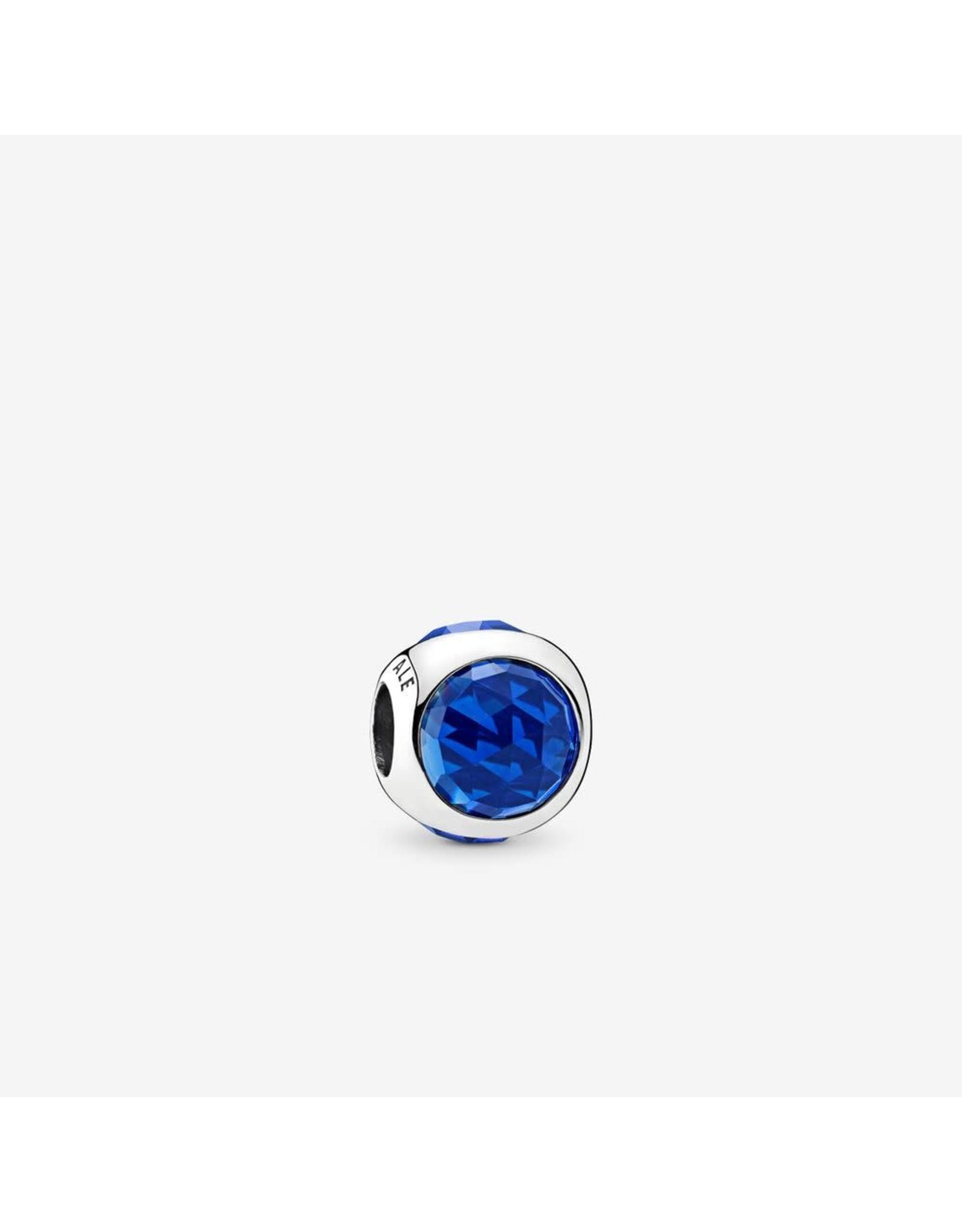 Pandora Pandora Charm, Radiant Droplet, Royal Blue Crystals