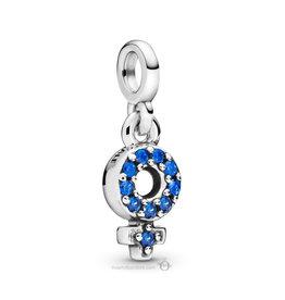 Pandora Pandora Me Charm, My Girl Pride, Blue Crystal