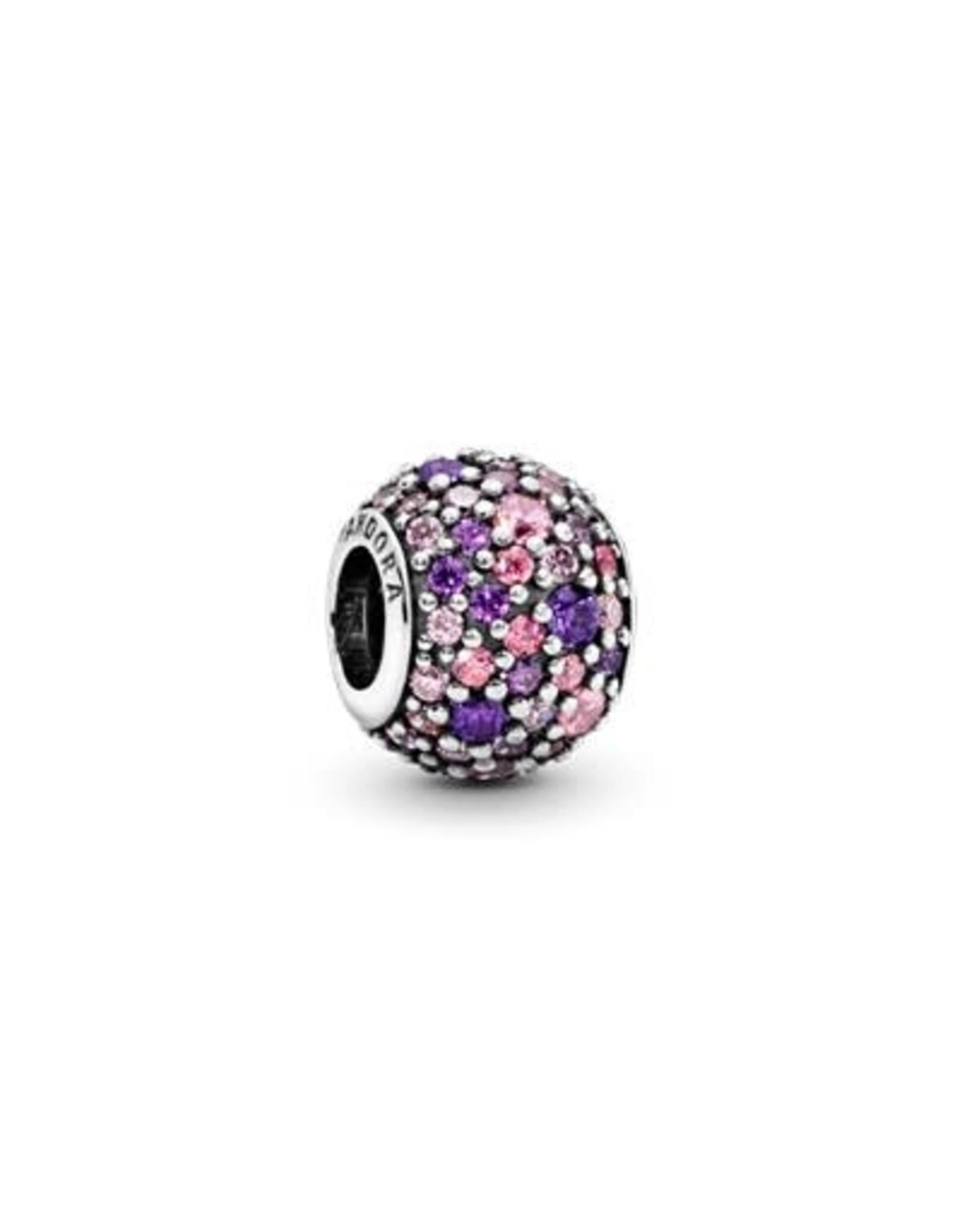 Pandora Pandora Charm, Cute Mouse, Pink Enamel