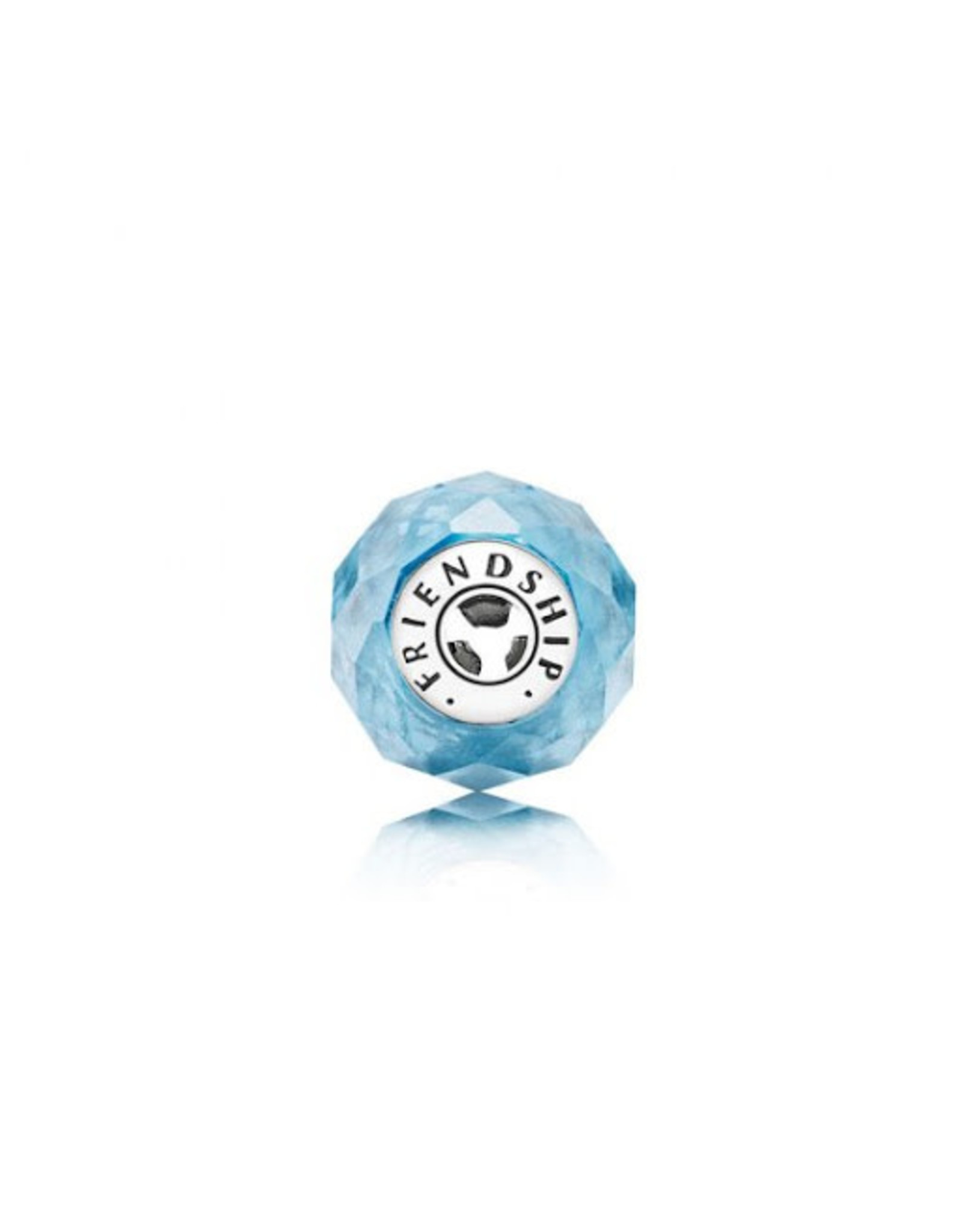 Pandora Pandora Essence Charm,Friendship, Sky-Blue Crystal