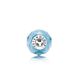 Pandora Pandora Essence Charm,Friendship, Sky-Blue Crystal