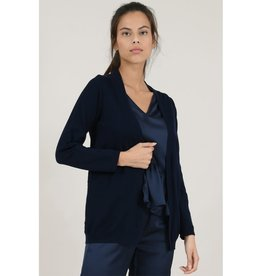 Molly Bracken Navy Lace Cardigan
