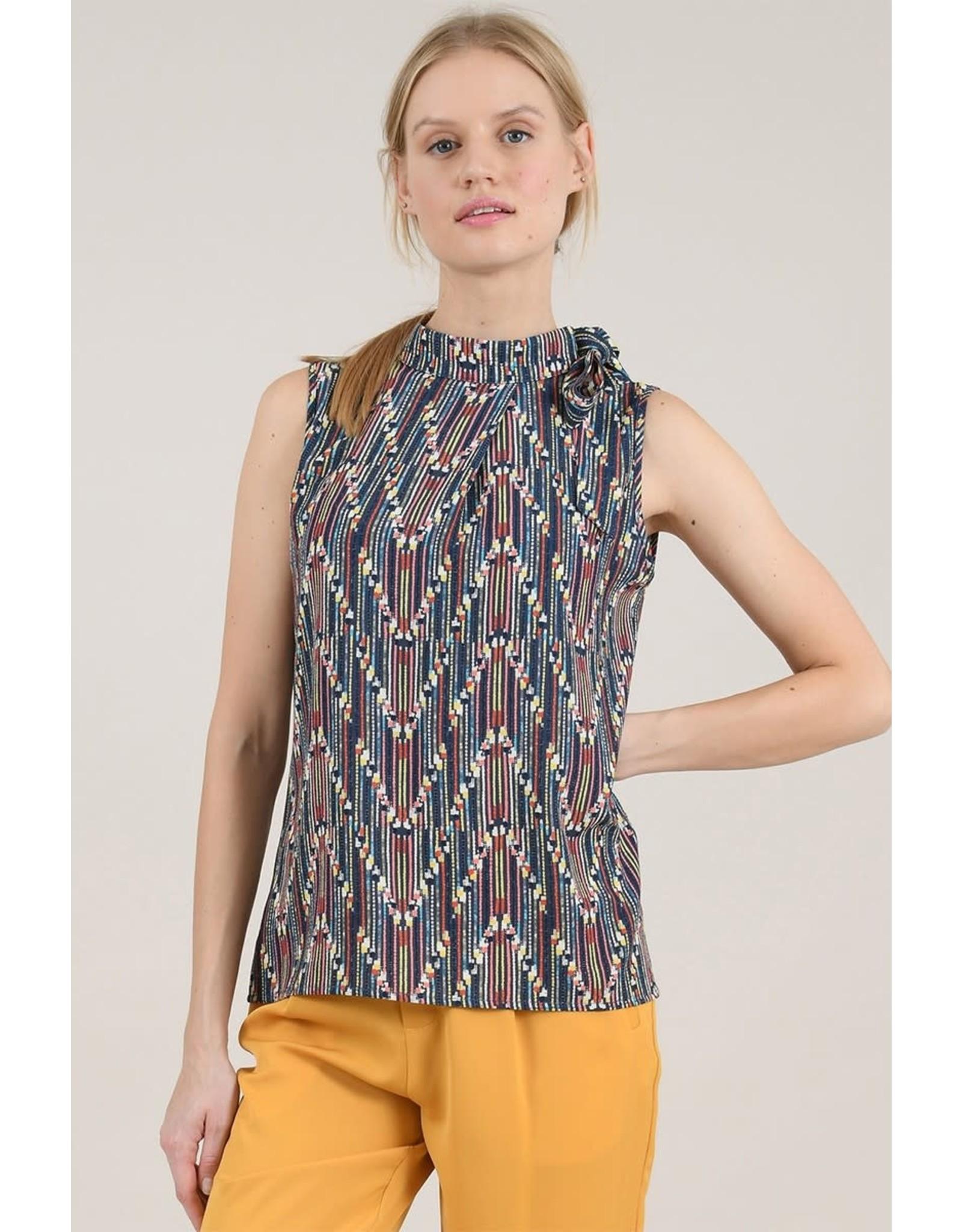 Molly Bracken Sleevless Printed Top