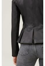 Soia&Kyo Black Genevieve Leather Jacket