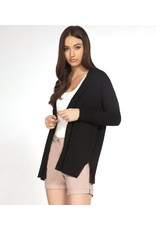 Dex Open Front Long Sleeve Cardigan