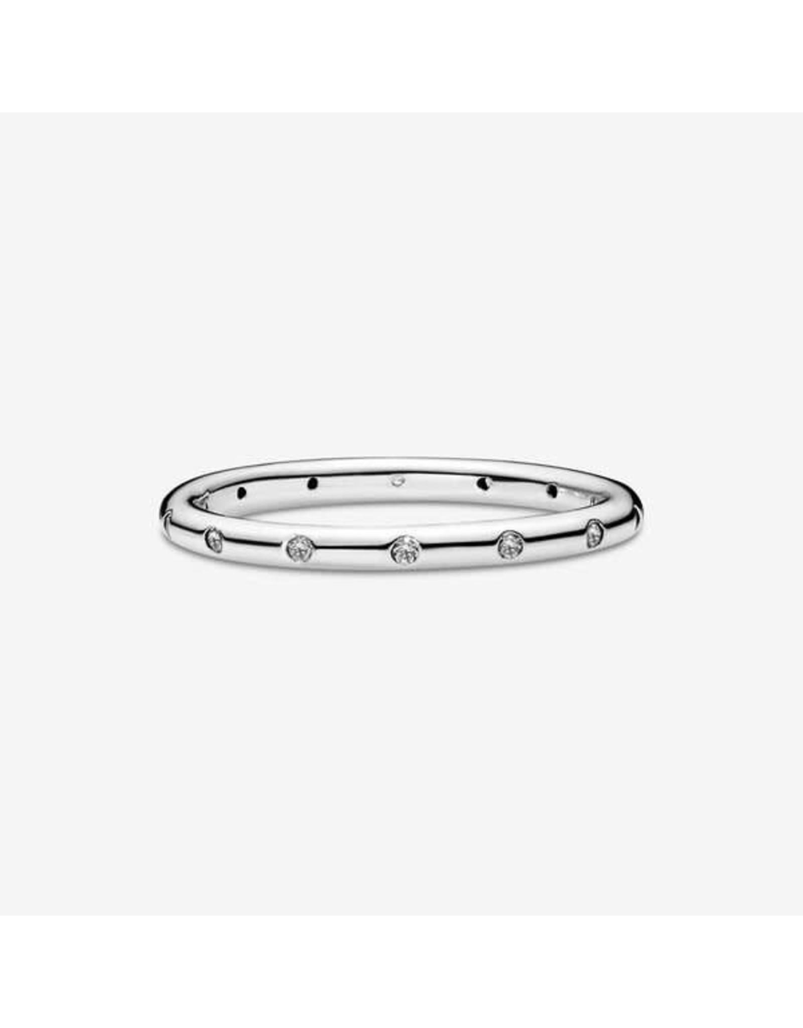 Pandora Pandora Ring, 190945CZ.Droplets, Clear CZ
