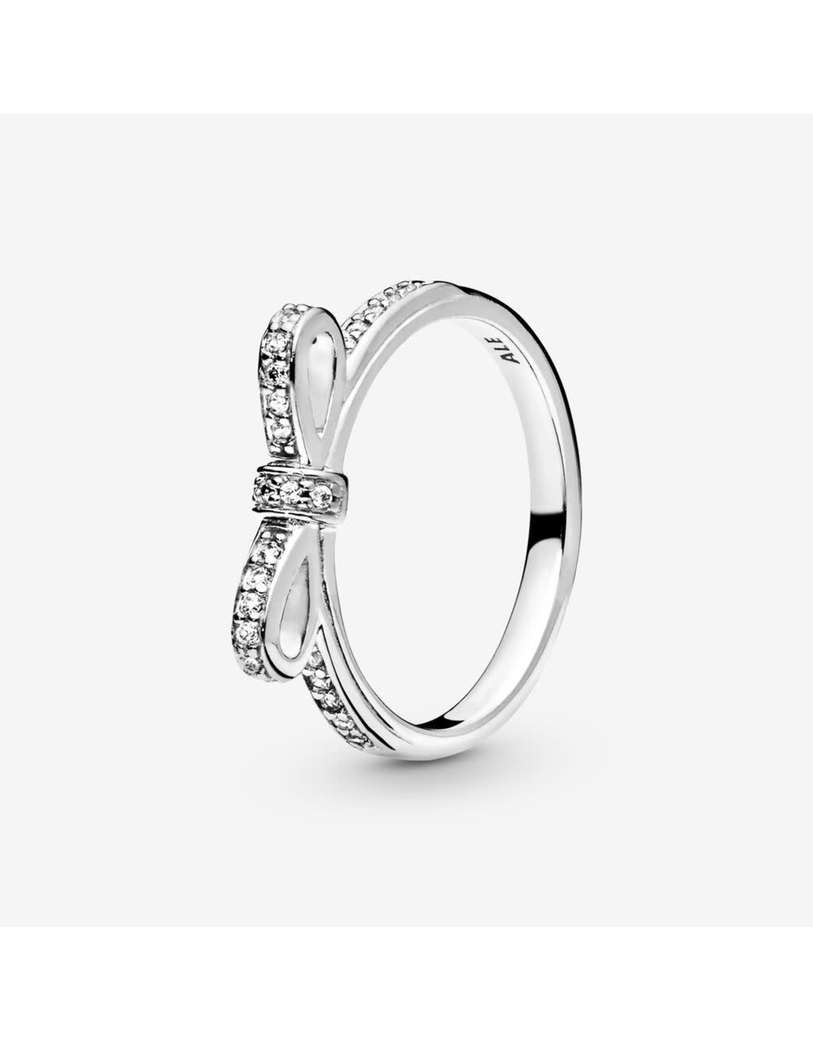 Pandora Pandora Ring,190906CZ, Sparkling Bow, Clear CZ