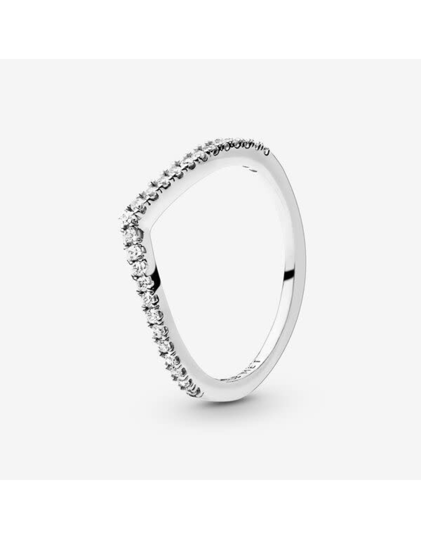 Pandora Pandora Ring,(196316CZ)  Shimmering Wish, Clear CZ