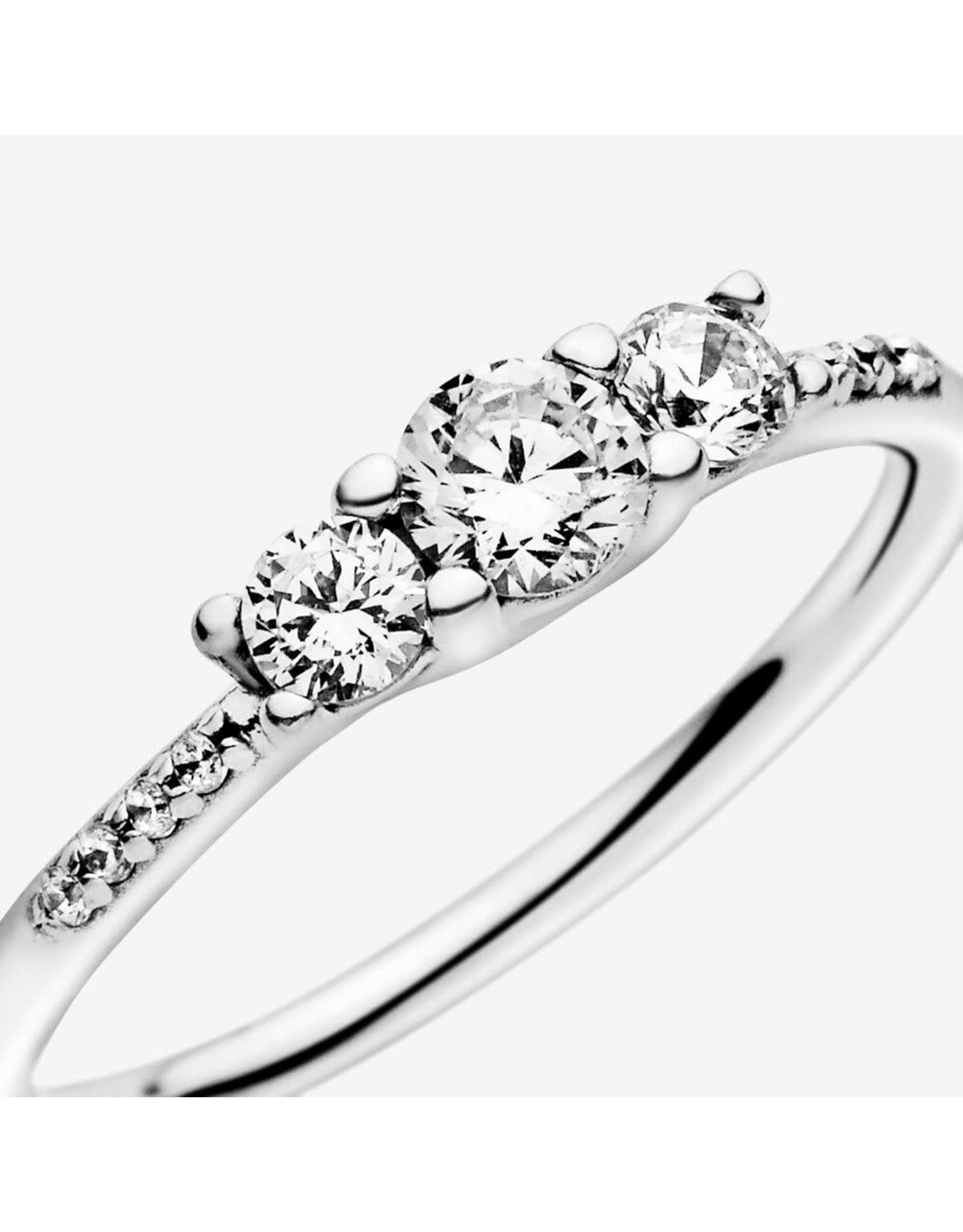 Pandora Pandora Ring,(196242CZ) Fairytale Sparkle, Clear CZ