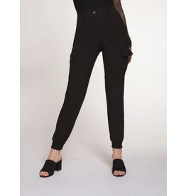 Dex Trouser Cargo Hig Black