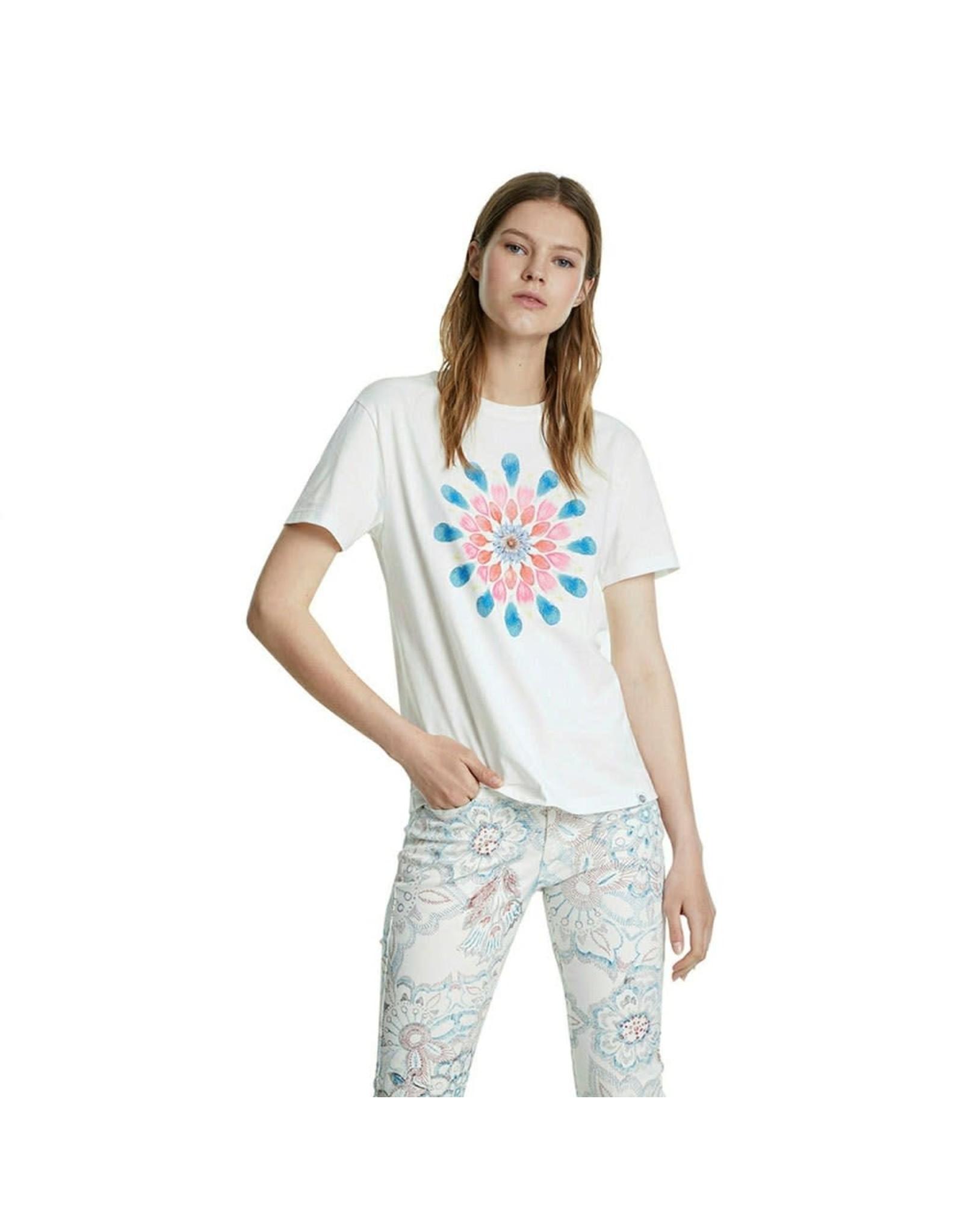 Desigual Desigual T-Shirt Milan White