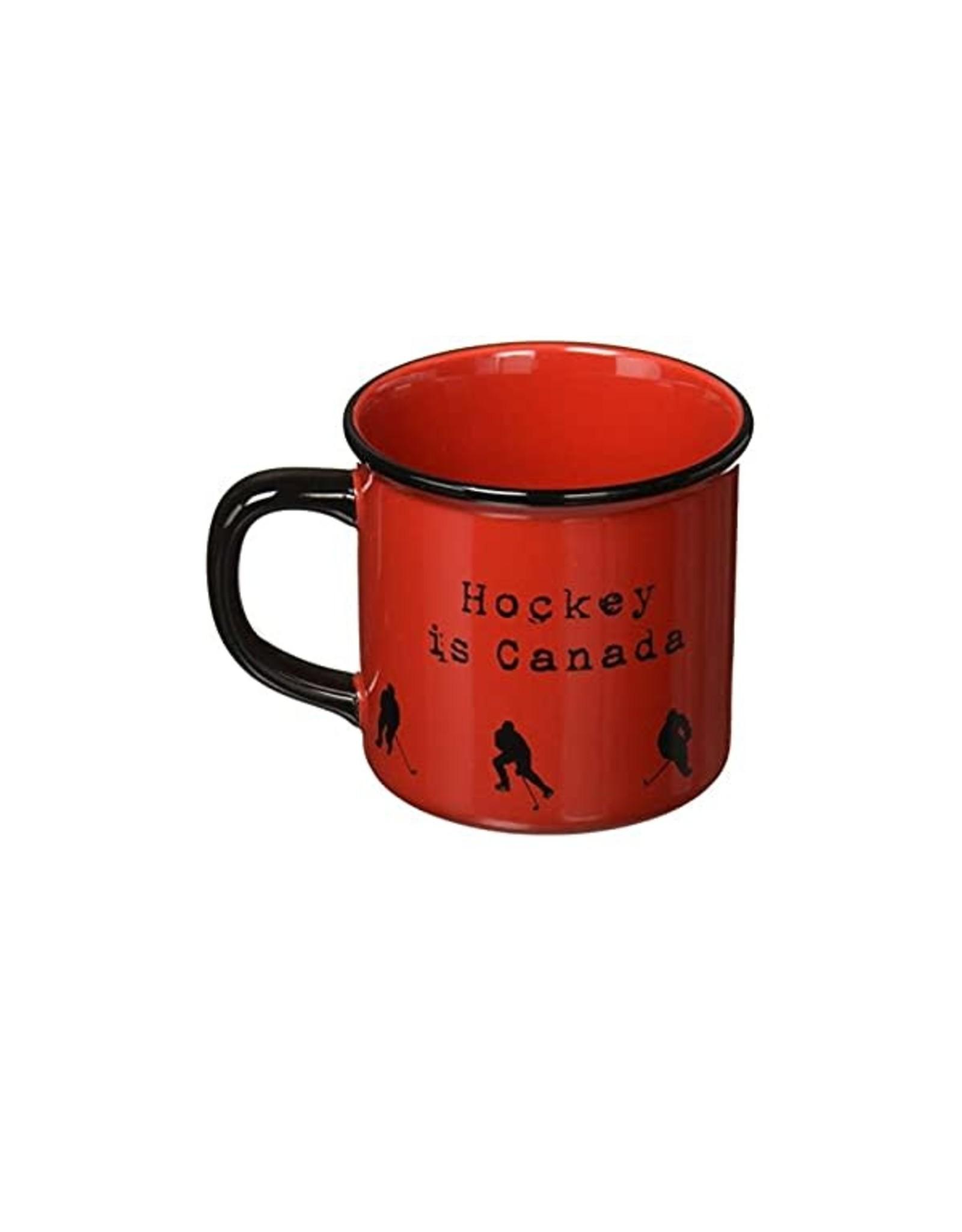 Abbott Red Mug Hockey Is Canada